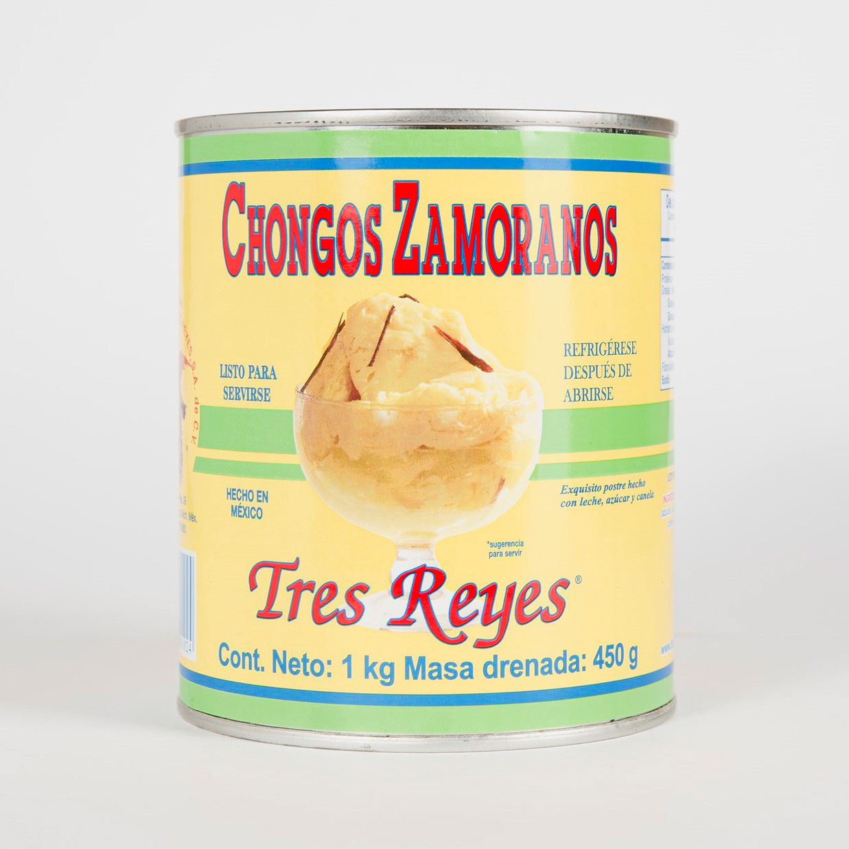 canned chongos zamoranos
